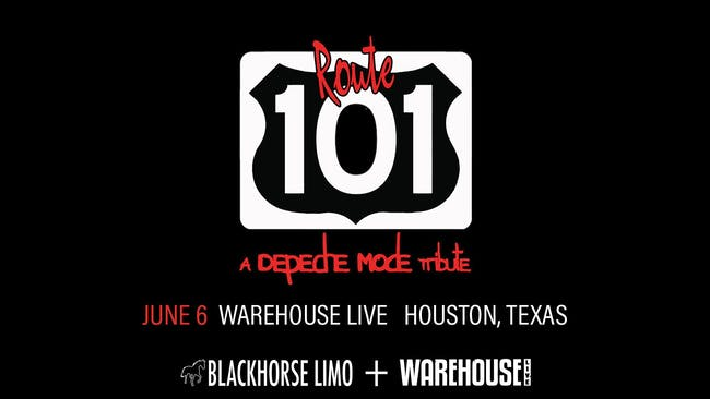 NEW WAVE TRIBUTE NIGHT: ROUTE 101 (DEPECHE MODE TRIBUTE)