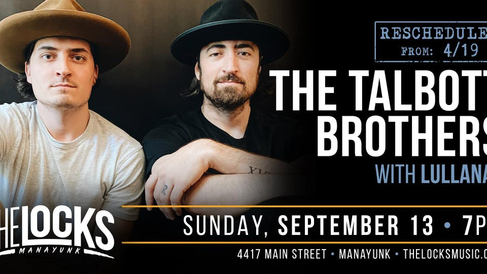 The Talbott Brothers with special guest Lullanas