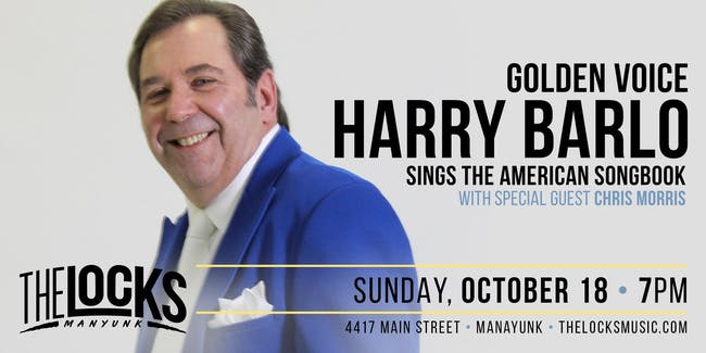 Harry Barlo Performs The Great American Songbook with Chris Morris