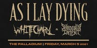 AS I LAY DYING BURN TO EMERGE TOUR POWERED BY HEART SUPPORT