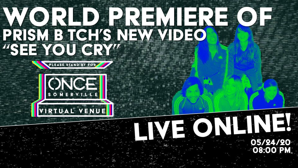 """World Premiere of Prism B*tch Video """"See You Cry"""" x ONCE VV"""