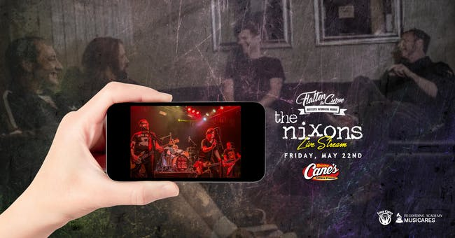 [LIVE STREAM and DRIVE-IN!] The Nixons - EP Release Party