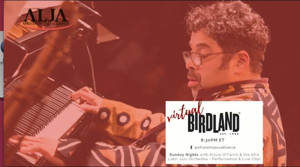 The Afro Latin Jazz Orchestra - Virtual Birdland Series!