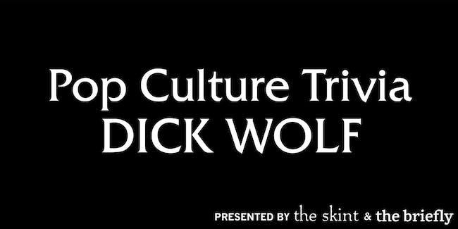 Pop Culture Trivia: Dick Wolf and True Crime