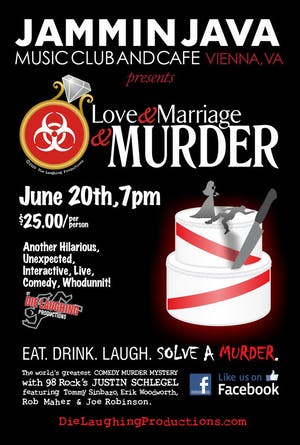 Murder Mystery Comedy Show: Love and Marriage and Murder