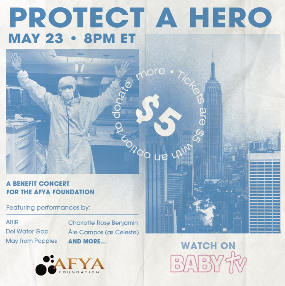 Protect A Hero: A Benefit Concert for The Afya Foundation on BABY TV