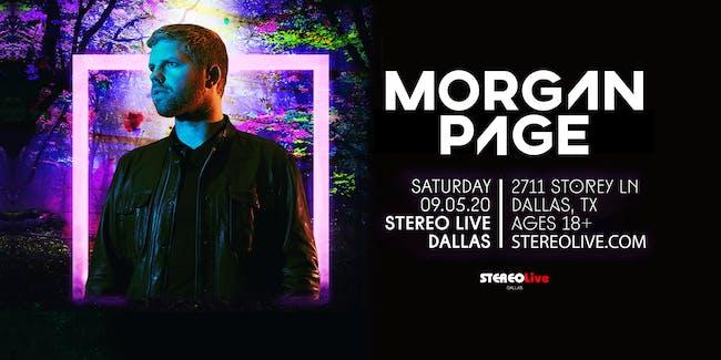 Morgan Page - Stereo Live Dallas