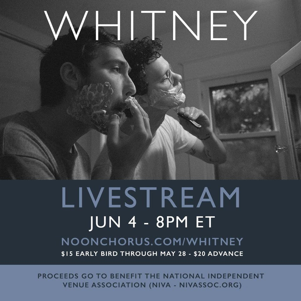 Whitney Live Stream