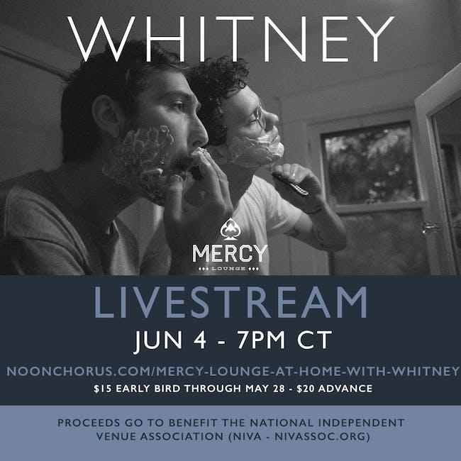 Whitney - Livestream