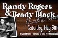 Randy Rogers Acoustic