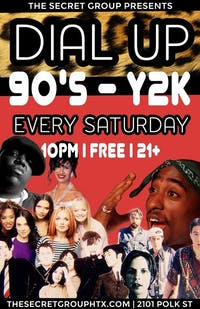 DIAL UP: 90s & Y2K  Party!