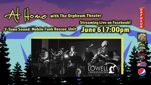 AT HOME WITH THE ORPHEUM THEATER: F-TOWN SOUND