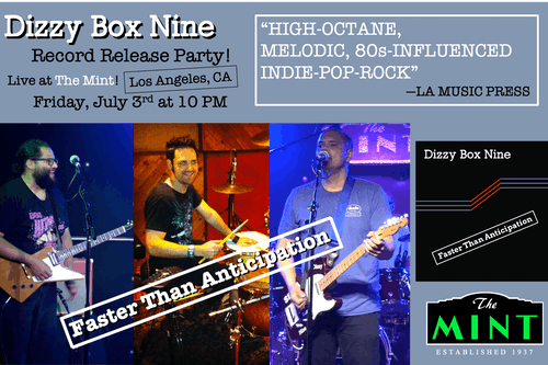 Dizzy Box Nine, Grant Hill, Rouge!, Populuxe