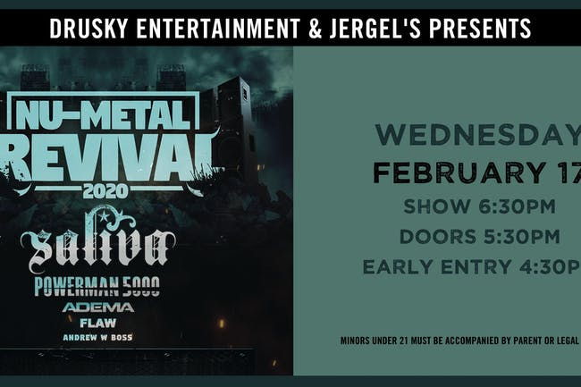 Nu-Metal Revival featuring Saliva & Powerman 5000