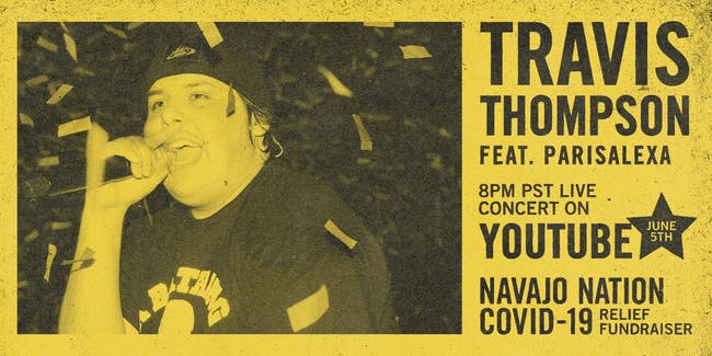 Nectar Virtual Concert Series presents TRAVIS THOMPSON feat. Parisalexa
