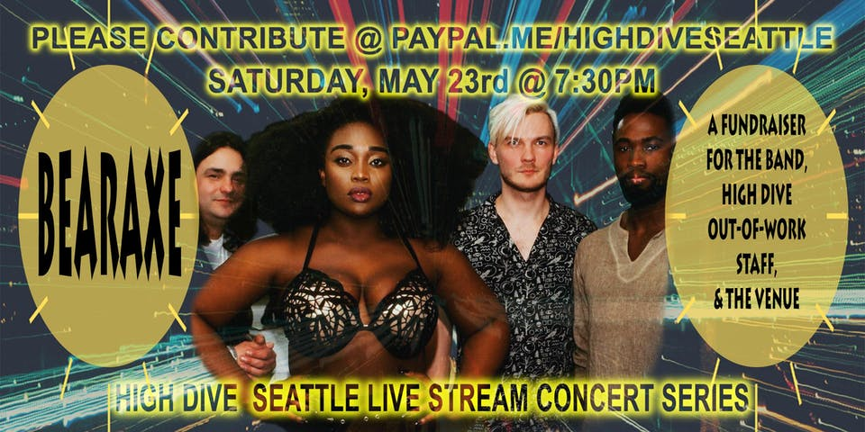 High Dive Live Stream Concert Series Presents: BEARAXE