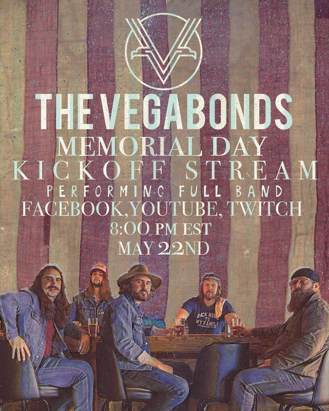 LIVE STREAM - The Vegabonds