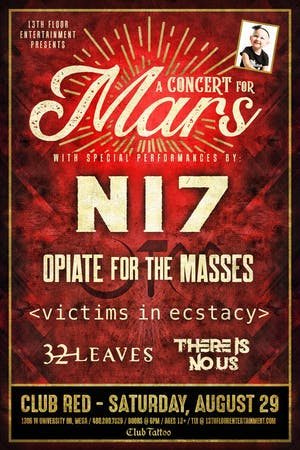A Concert For Mars Featuring N17