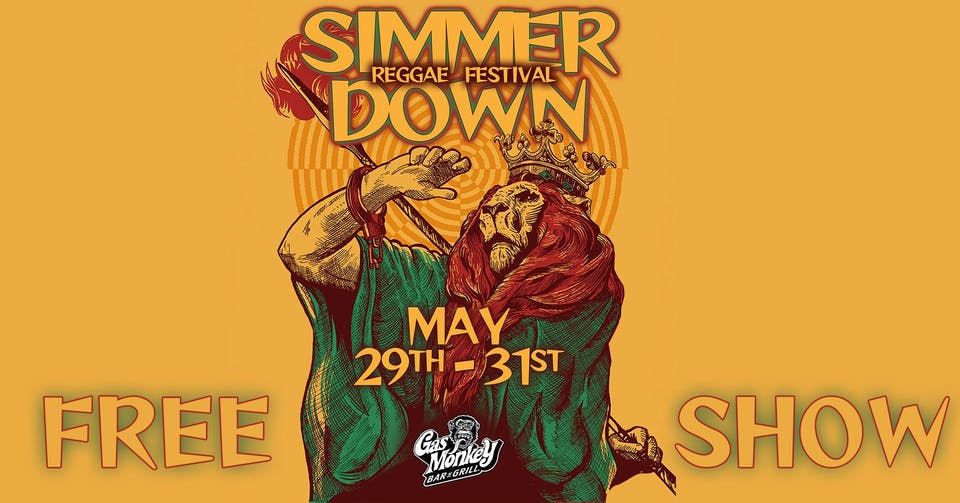 Simmer Down Reggae Festival - FREE SHOW ft. Burning Slow