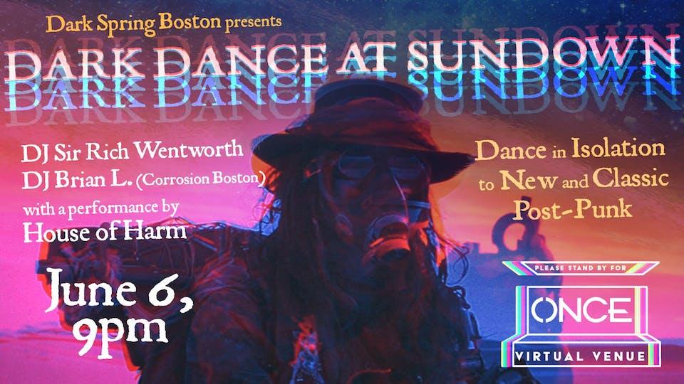 Dark Dance at Sundown x ONCE VV