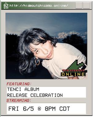 Tenci Album Release Celebration @ 8PM