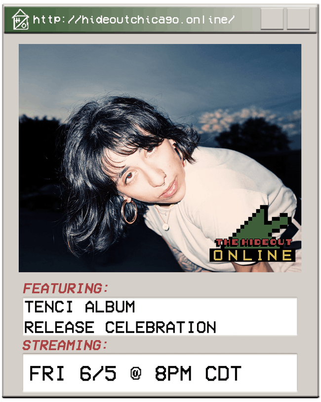 Tenci Album Release Celebration @ 8PM