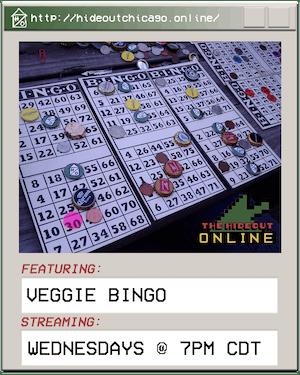 Virtual Veggie Bingo @ 7PM
