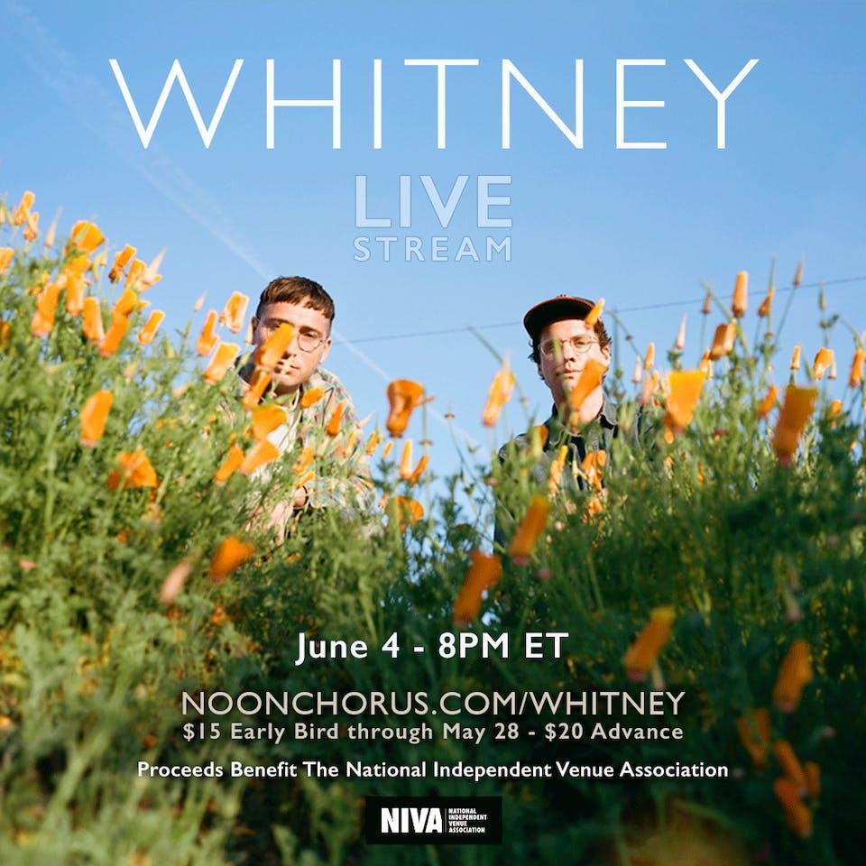 Whitney (live stream)
