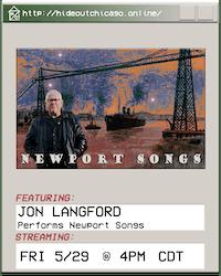 Jon Langford Performs Newport Songs