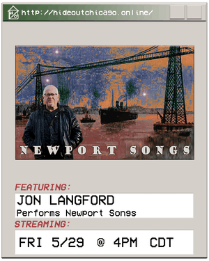 Jon Langford Performs Newport Songs