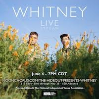 Whitney Livestream @7PM