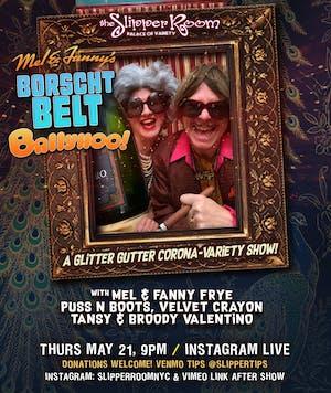 Glitter Gutter in Exile: Mel and Fanny's Borscht Belt Ballyhoo!