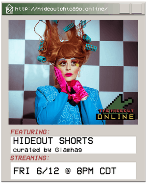 Hideout Shorts curated by Glamhag