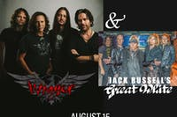 WINGER / JACK RUSSELL'S GREAT WHITE