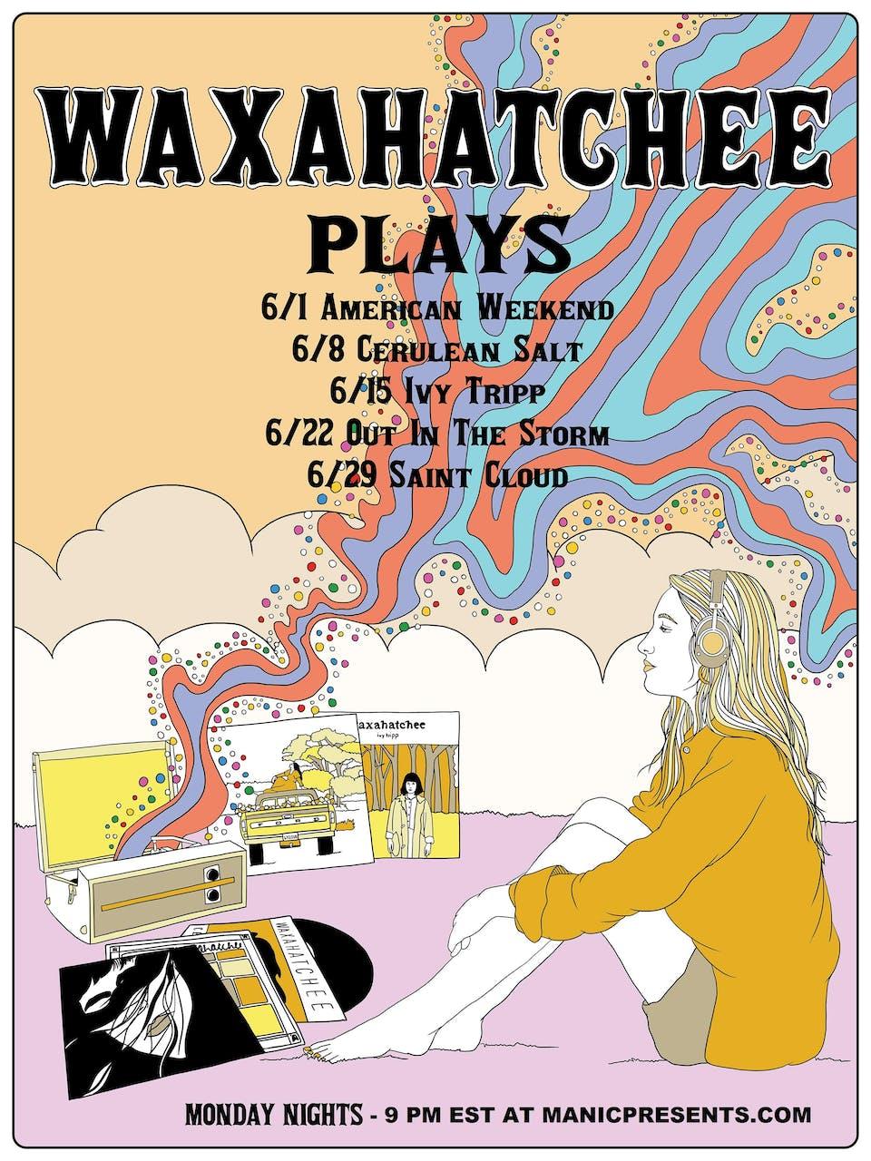 Waxahatchee performing American Weekend (live stream)