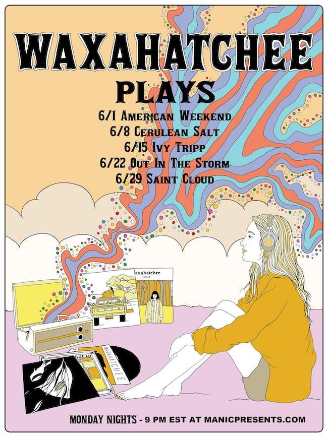 Waxahatchee performing Cerulean Salt (live stream)