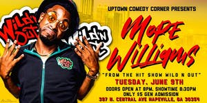 Comedian Mope Williams