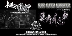 JUDAS X: a tribute to Judas Priest & BIG CITY NIGHTS a tribute to Scorpions