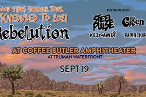 Good Vibes Summer Tour 2021: Rebelution & Special Guests