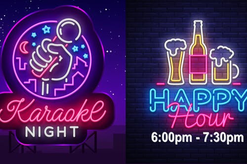 Karaoke Night  + Happy Hour (No Cover)
