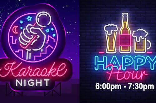 Karaoke Night  + Happy Hour (No Cover)