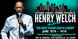 Comedian Henry Welch