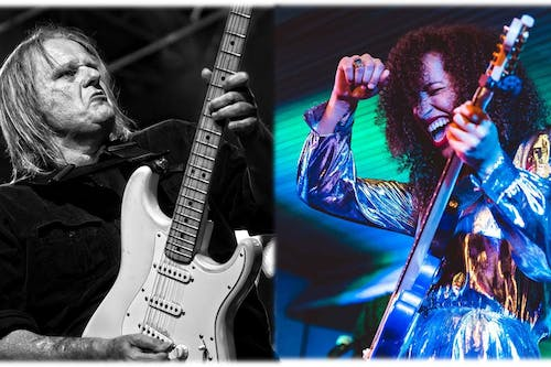 Walter Trout with Jackie Venson