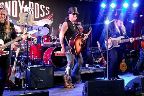 """Andy Ross """"American Rebel"""" with Donnie Miller & Rude Awakening"""