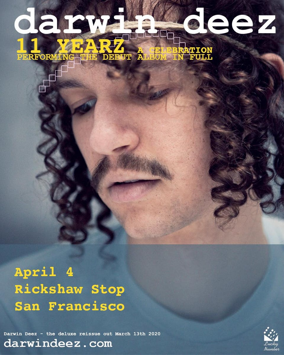 DARWIN DEEZ's 11 Year Anniversary Tour for his self-titled debut album!