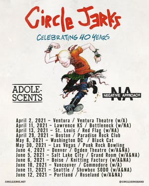 Circle Jerks 40th Anniversary