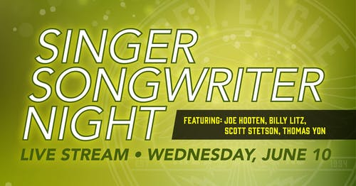 LIVE STREAM: Singer/Songwriter Night