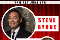 Steve Byrne Live Stream From Backstage Bar and Billiards