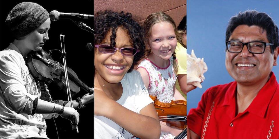 KIDS LEARN TO PLAY:  Fiddle Hour ONLINE (Intermediate/Advanced)