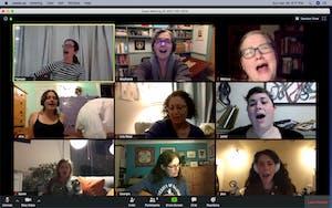 Women's Singing Circle ONLINE (MONDAYS @5:30pm) w/Tamsen Fynn